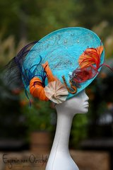 The Great Barrier Reef Saucer Hat
