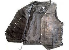 10 Pocket Vest Milled Leather