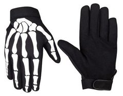 Bone Finger Mechanic Gloves