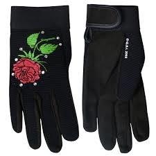 Ladys Rose Mechanic Gloves