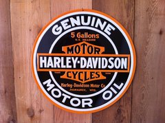 Harley-Davidson Genuine Motor Oil Sign