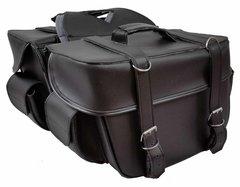 "Medium 2 Strap Saddle Bag 14"" X 10"" X 6"" flat"