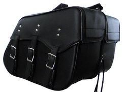 "Medium 3 Strap Saddle Bag  16"" X 12"" X 8"""