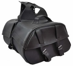 "Medium 2 Strap Saddle Bag    16"" x 10"" x 6"""