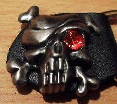 Pirate skull vest extender