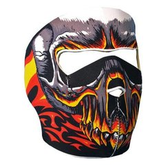 Red Evil Skull Neoprene Facemask