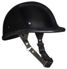 Gloss Black Jockey Novelty Helmet