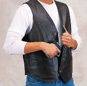 Double Concealment Plain Side Vest