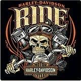 Harley-Davidson Ride Bone Tin Sign