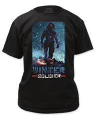 Captain America Winter Solder Adult T-shirt