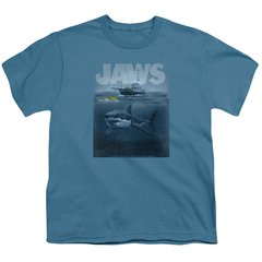 Jaws Silhouette Youth T-shirt