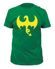 Iron Fist Dragon Logo Adult T-shirt