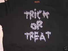 Halloween Trick or Treat Junior T-shirt