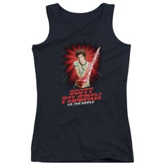 Scott Pilgrim vs The World Super Sword Junior Tank Top T-shirt