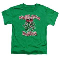 Christmas Mistletoe Tester Toddler T-shirt