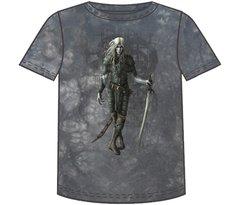 Fantasy Dark Elf Short Sleeve Adult T-shirt