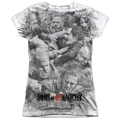 Sons of Anarchy Brawl Junior T-shirt