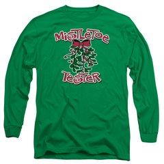 Christmas Mistletoe Tester Long Sleeve T-shirt