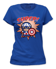 Captain America Super Womens T-shirt