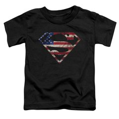 Superman Super Patriot Toddler T-shirt