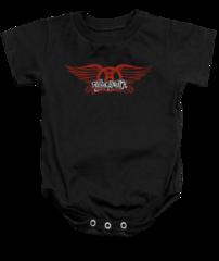 Aerosmith Winged Infant Onesie