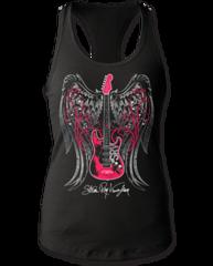 Stevie Ray Vaughan Wings Womens Tank Top T-shirt