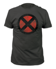 X-men Distressed Logo Adult T-shirt