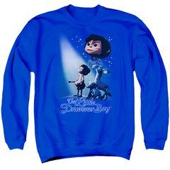 Christmas Little Drummer Boy White Light Crew Neck Sweatshirt