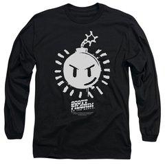 Scott Pilgrim vs The World Sex Bomb OMB Logo Long Sleeve T-shirt