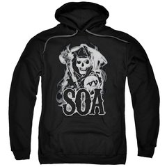 Sons of Anarchy Smoky Pull-Over Hoodie