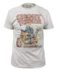 Ghostrider Hell on Wheels Adult T-shirt