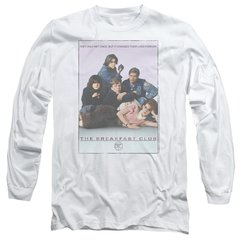 The Breakfast Club Poster Long Sleeve Adult T-shirt