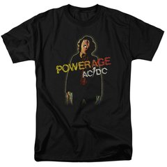 AC/DC Powerage Black Short Sleeve Adult T-shirt