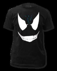 Venom Face Adult T-shirt
