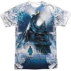 Christmas Polar Express Journey FB Print T-shirt