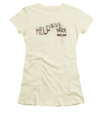 Dawn of the Dead Help Alive Inside Junior T-shirt