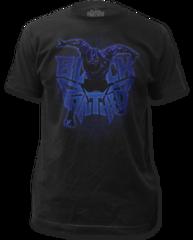 Black Panther Attack Logo Black Short Sleeve Adult T-shirt