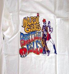 Mardi Gras British Isles T-shirt