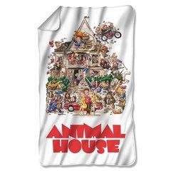 Animal House Poster Fleece Blanket