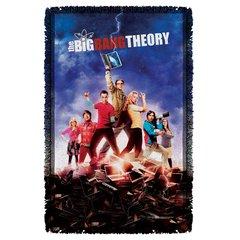 The Big Bang Theory Woven Throw Blanket