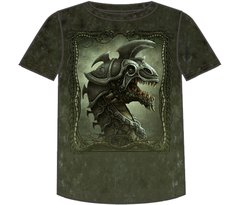Fantasy Battle Dragon Short Sleee Adult T-shirt