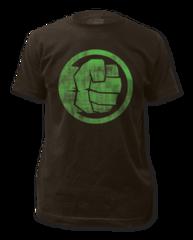 Incredible Hulk Fist Bump Adult T-shirt