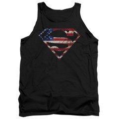 Superman Super Patriot Tank Top T-shirt