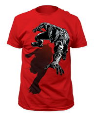 Black Panther Shadow Adult T-shirt