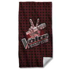 The Voice Logo Beach Towel