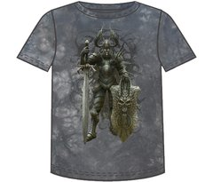 Fantasy Dark Knight Short Sleeve Adult T-shirt