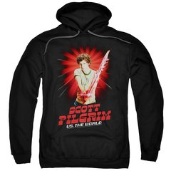 Scott Pilgrim vs The World Super Sword Pull-Over Hoodie