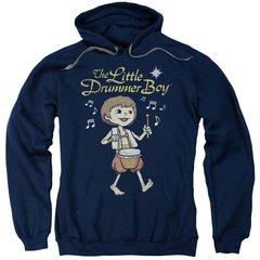 Christmas Little Drummer Boy Starlight Pull-Over Hoodie