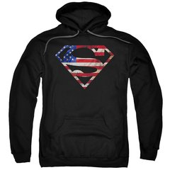 Superman Super Patriot Pull-Over Hoodie