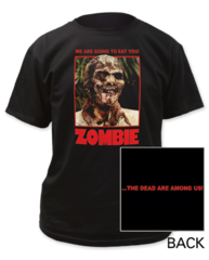 Zombie We Are Going to Eat You! Color Adult T-shirt